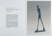 With the kind permission of the Giacometti Administration